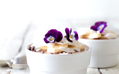 Coconut & Banana Chocolate Mousse