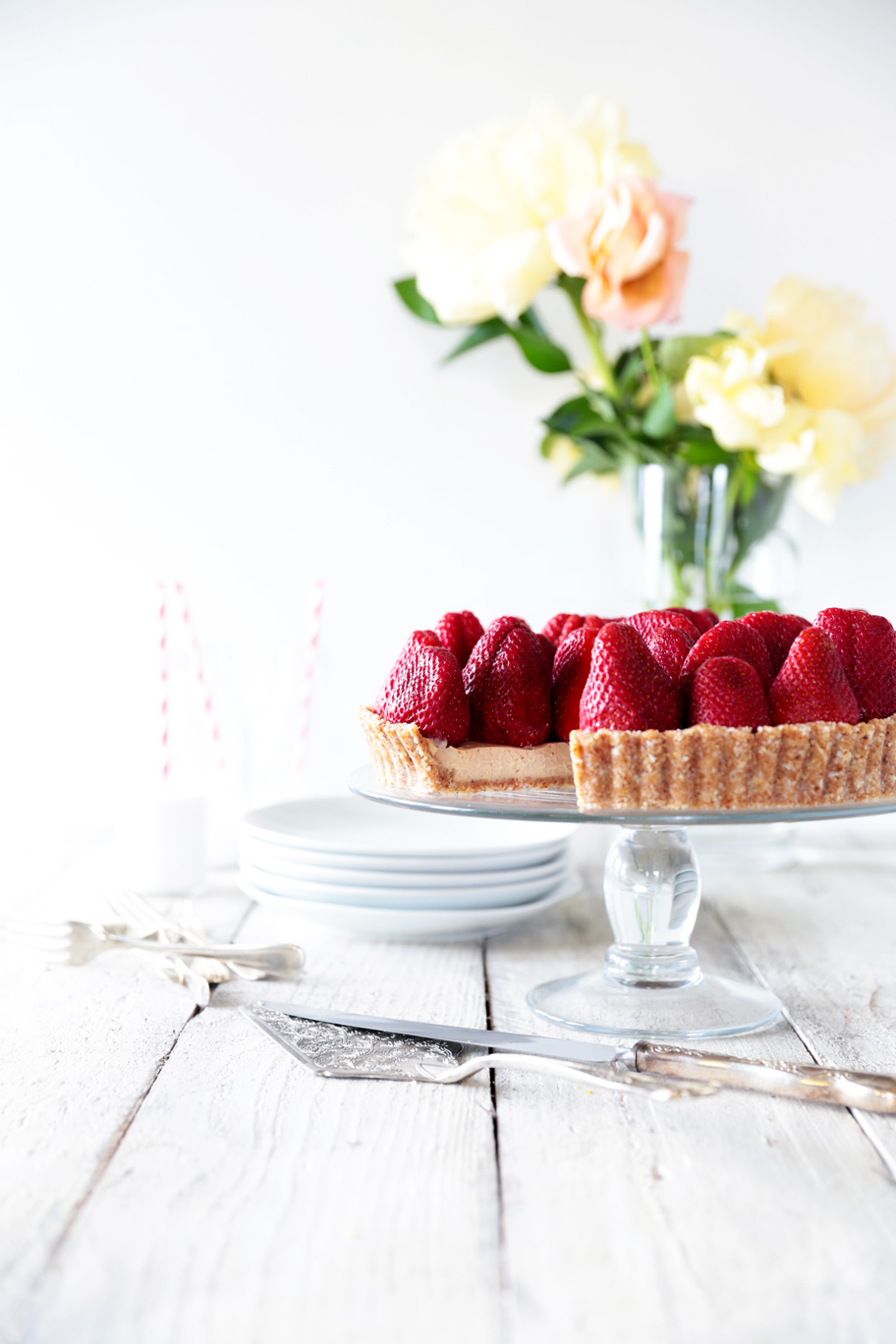 Raw Strawberry Tarts Recipes — Dishmaps