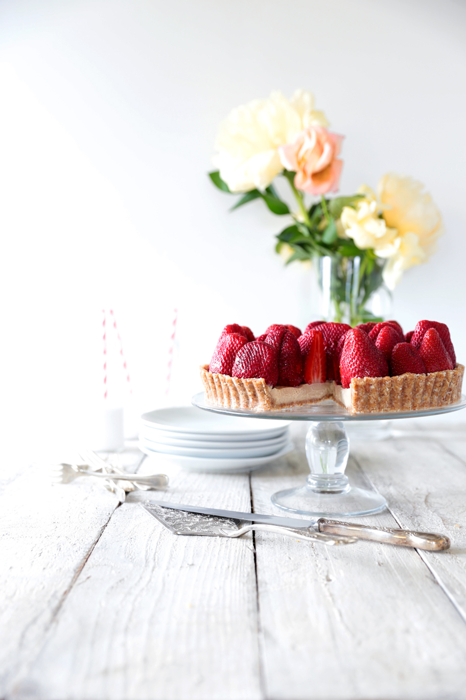 If you liked this Raw Strawberry Tart recipe you might also like: