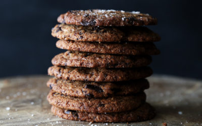 Soft Chocolate Chip Cookies (Gluten-free/Vegan)