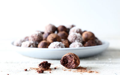 Nutty Chocolate Truffles