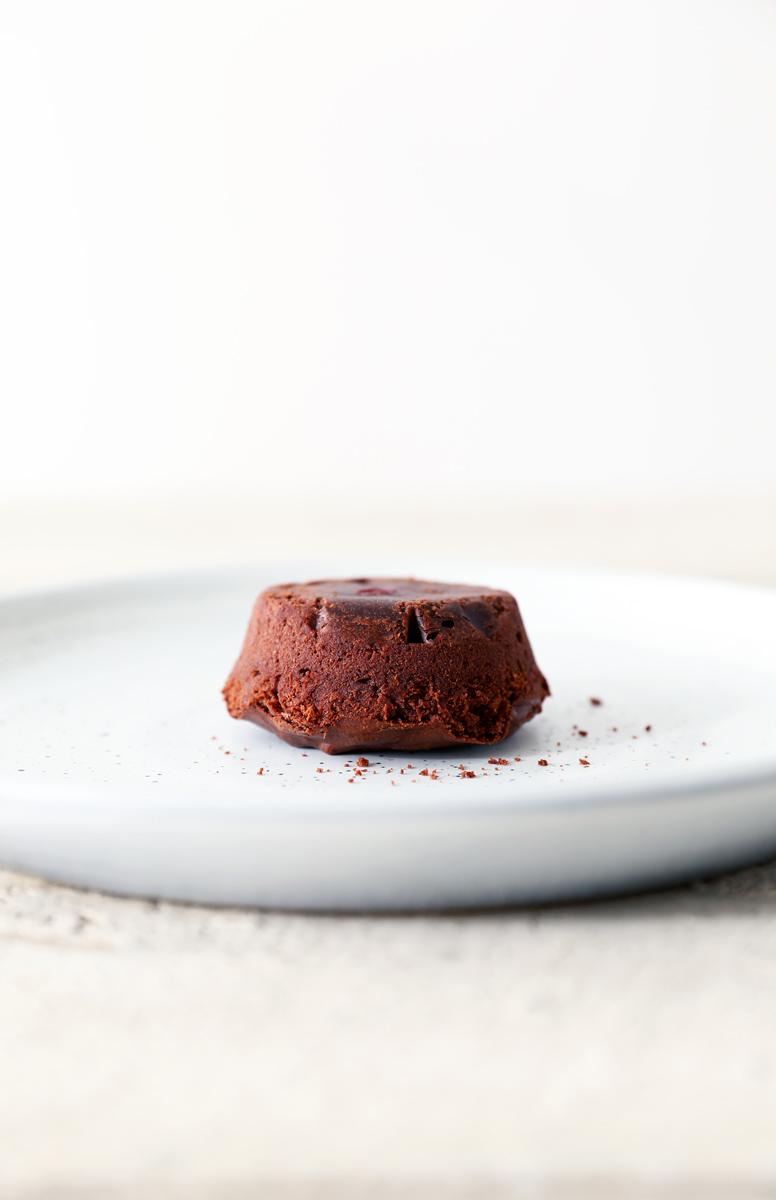 Chocolate Raspberry Molten Cake
