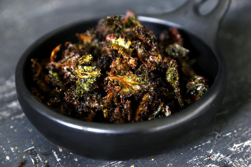 Purple Kale Chips (aka Dragon Wings!)