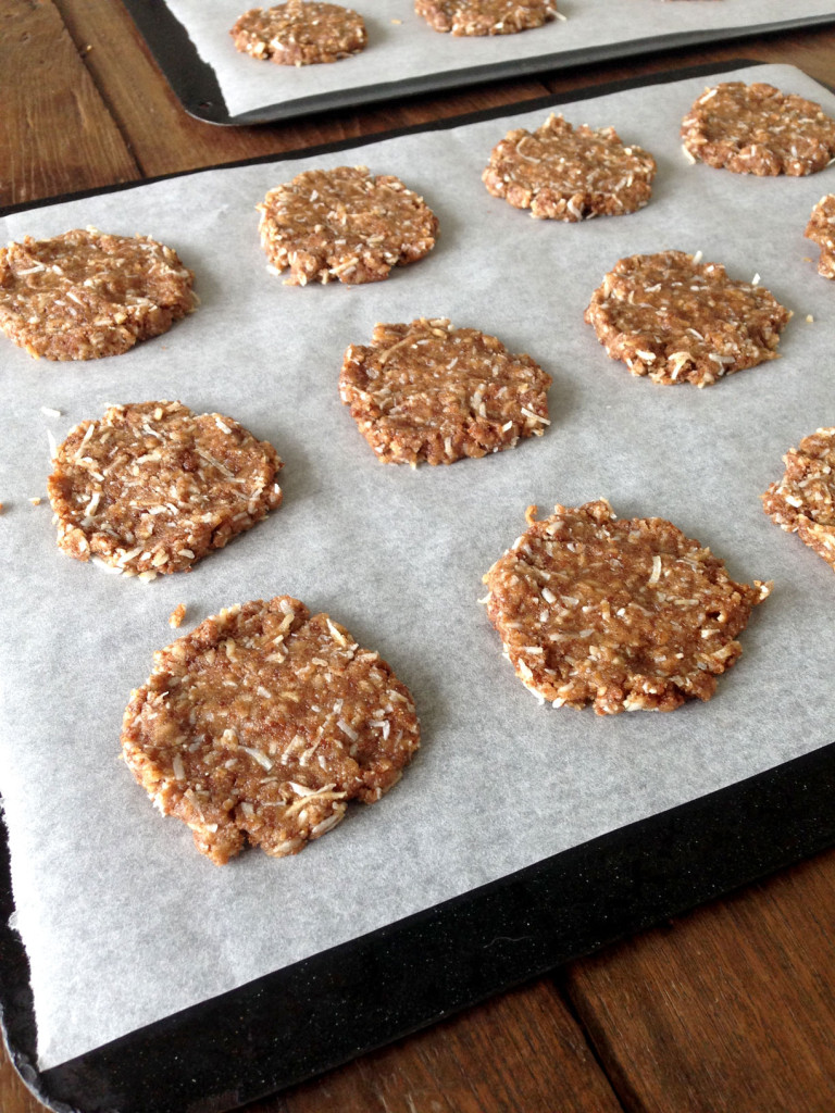 Ginger coconut cookies by swoonfood.com