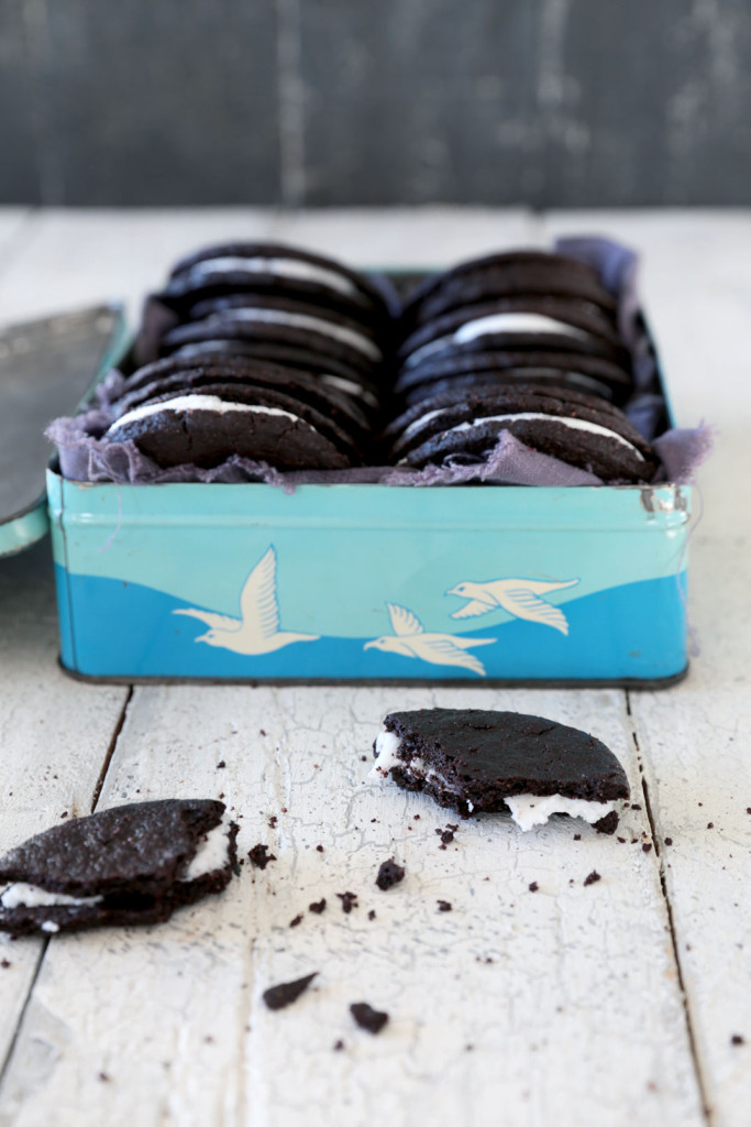 """Oreo"" Cookies - a dairy and gluten free recipe 050aw"