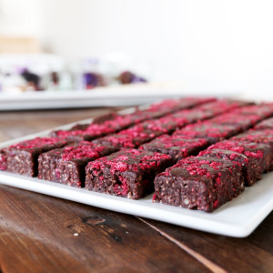 Raw Chocolate & Raspberry Brownie