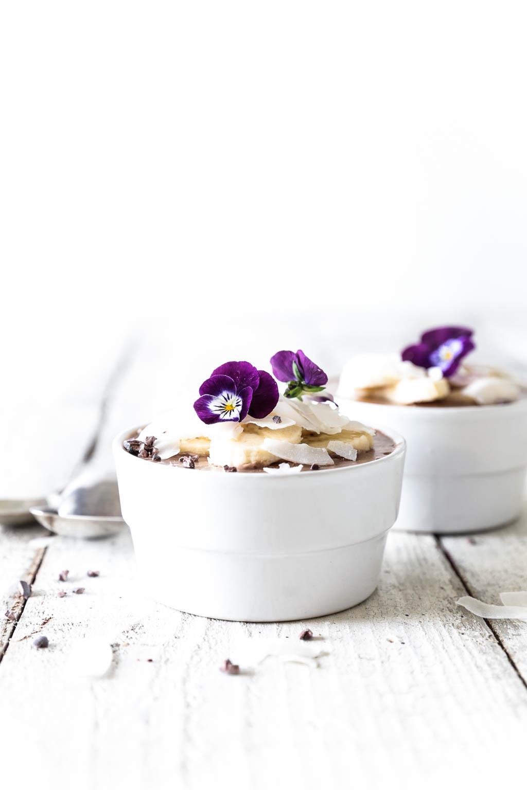 Coconut & Banana Chocolate Mousse