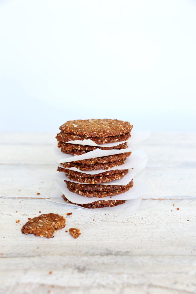 Cardamon Pepper Cookies (flour free)