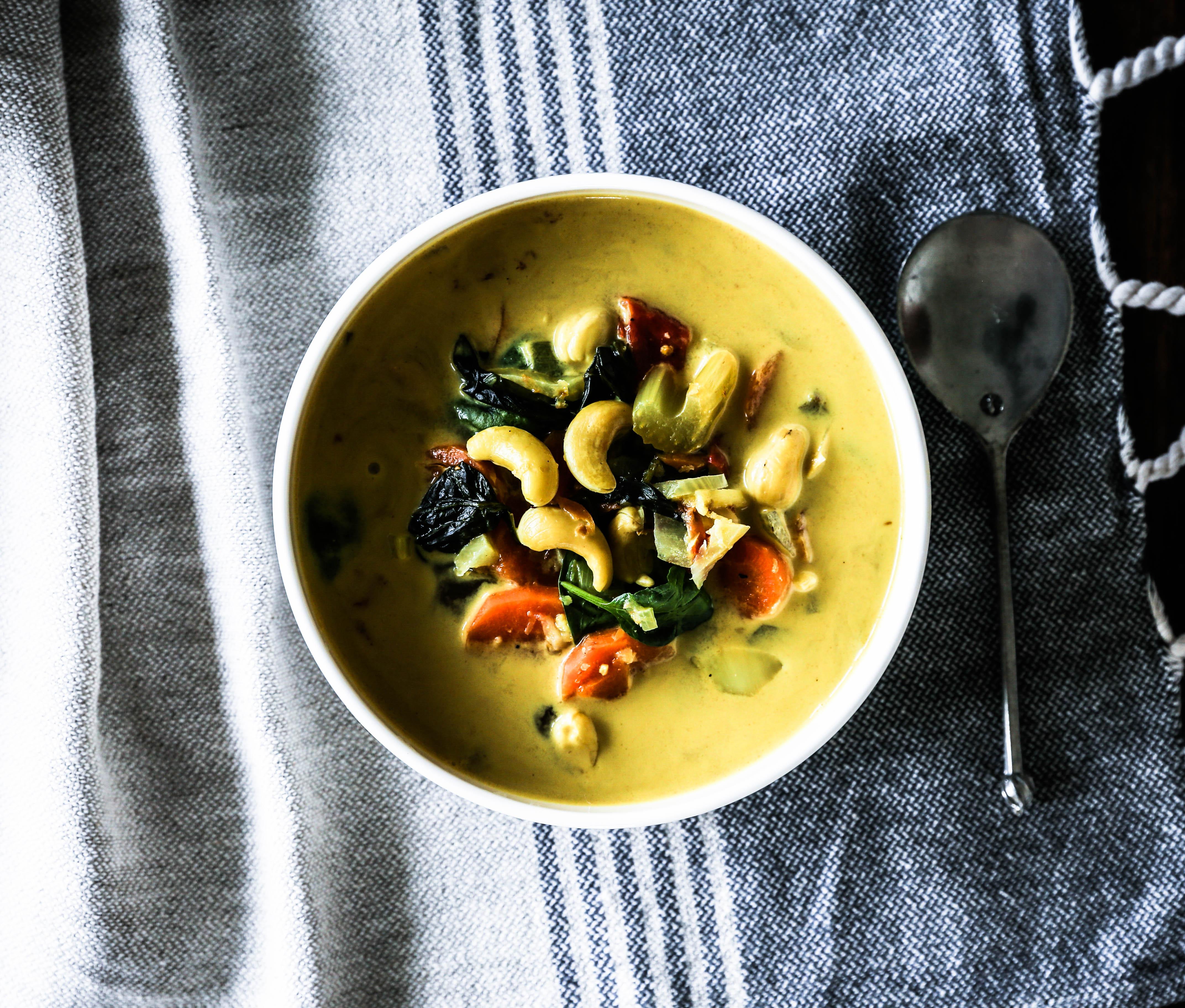 Cashew Coconut Soup