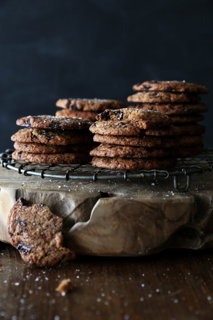 Soft Chocolate Chip Cookies (Gluten-free/Vegan)
