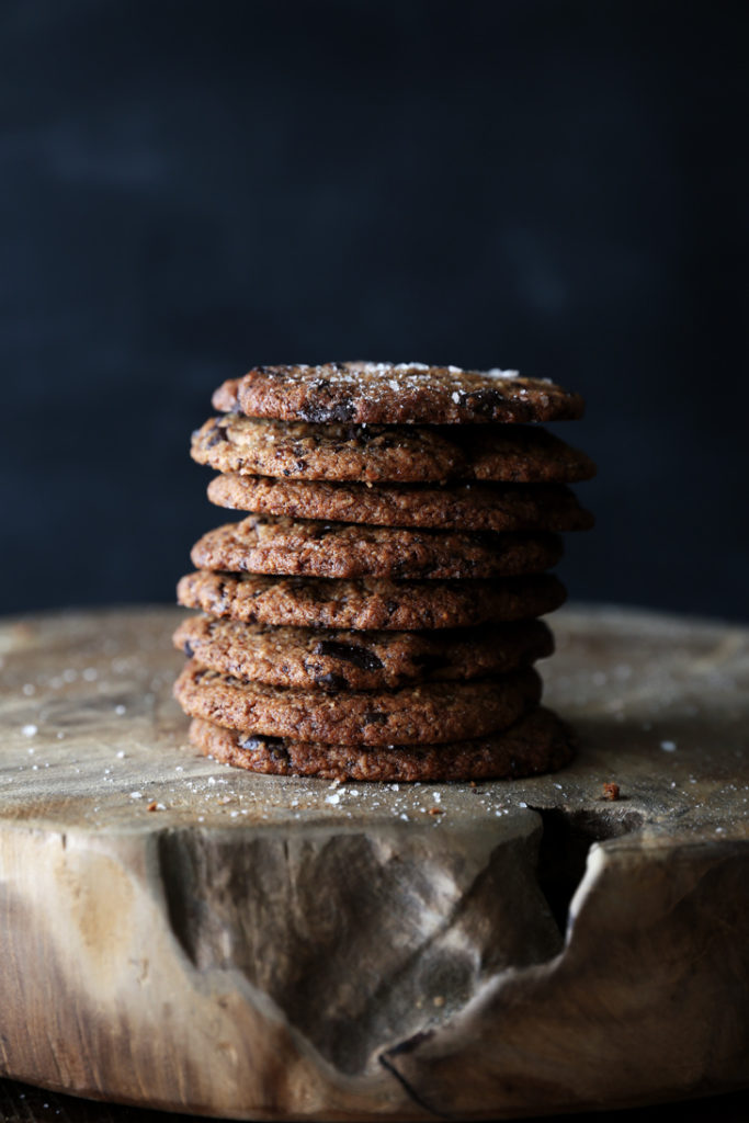 Soft chocolate chip cookies (gluten free/vegan)
