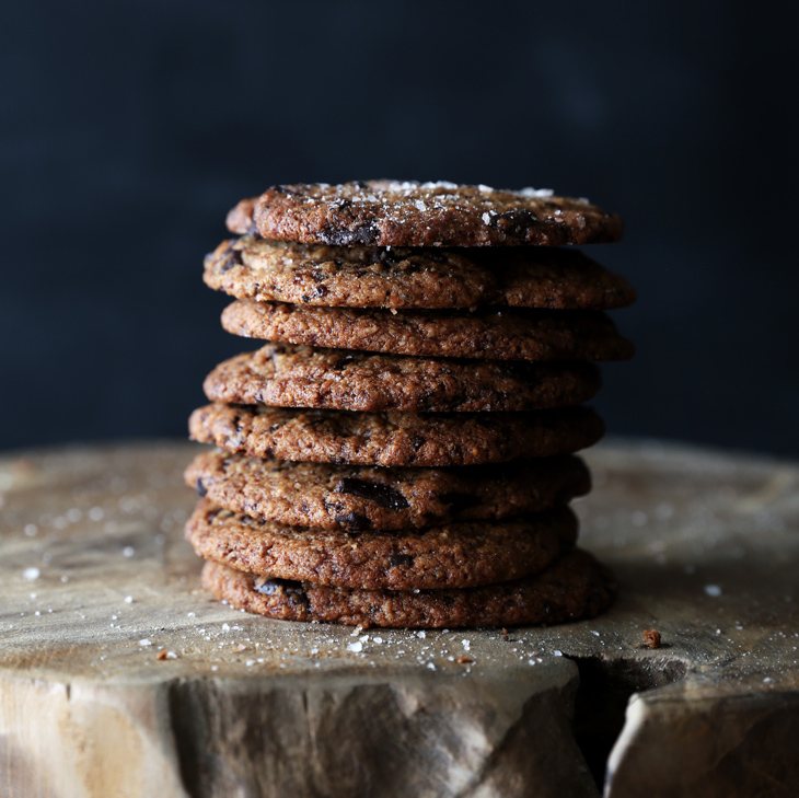 Soft Chocolate Chip Cookies (gf/vegan)