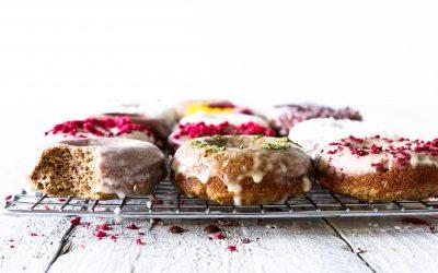 Swoonuts aka Spiced Vanilla Cake Donuts