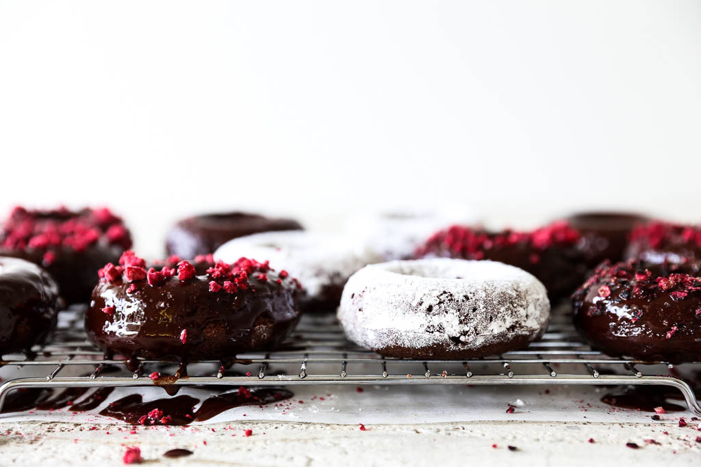 Chocolate Swoonuts (Chocolate Cake Donuts)
