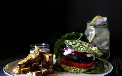 The Ultimate Beetroot Bean Burger