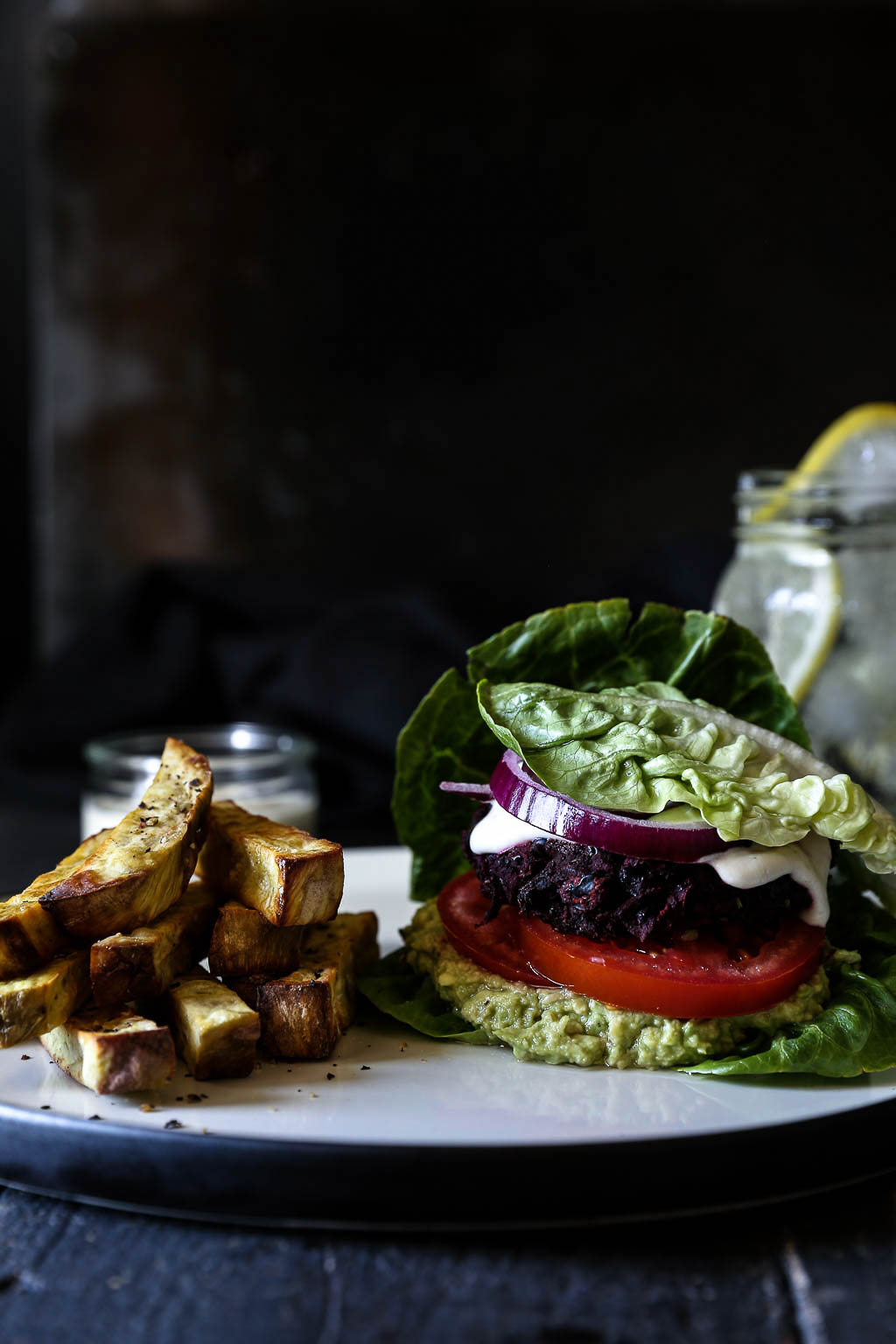 The Ultimate Beetroot Bean Burgers