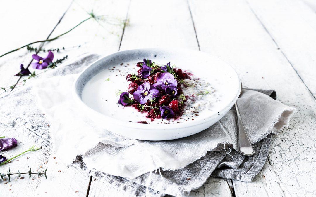 Buckwheat Basil Seed Porridge with Cardamom & Vanilla