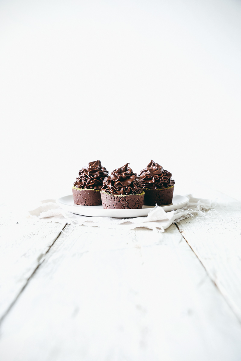Raw Cacao Cupcakes with Shroom Brew Frosting
