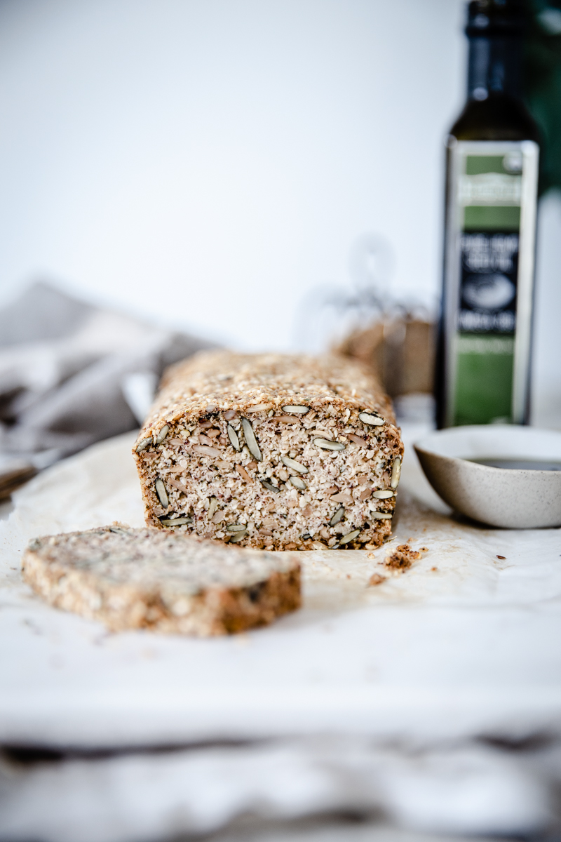 Hemp, Pumpkin & Sunflower Seed Bread