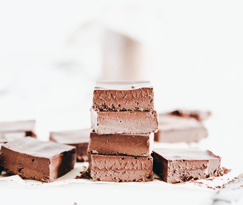 Milk Chocolate Caramel Fudge