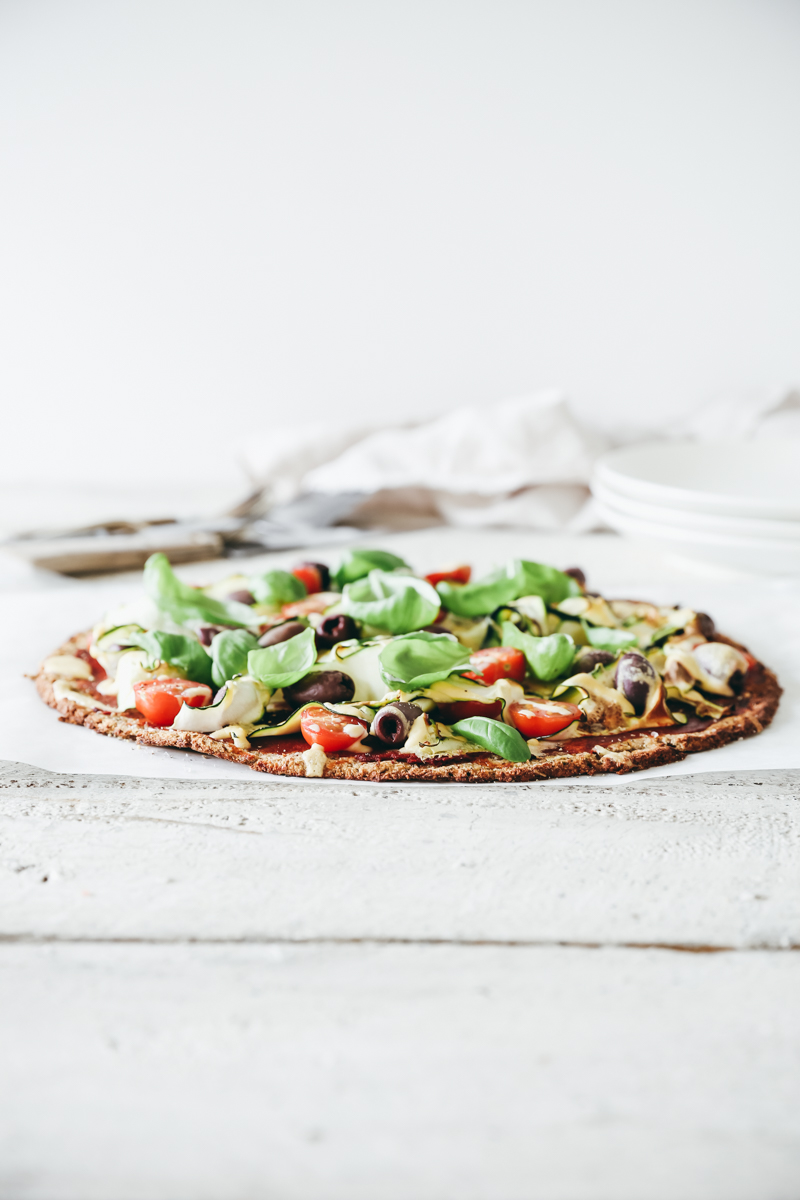 The Ultimate Guilt Free Pizza