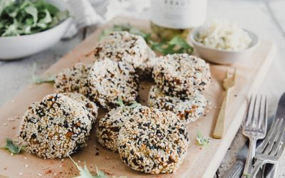Sesame & Red Lentil Patties