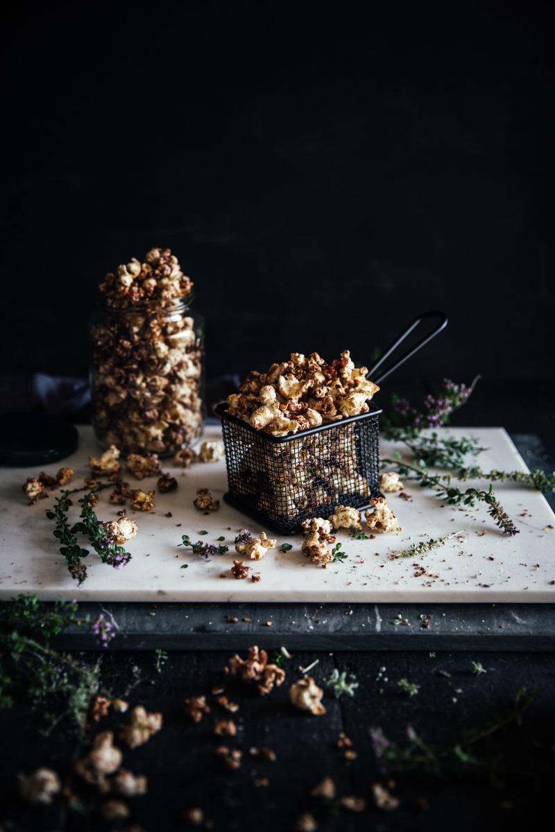 Maple Cinnamon Popcorn