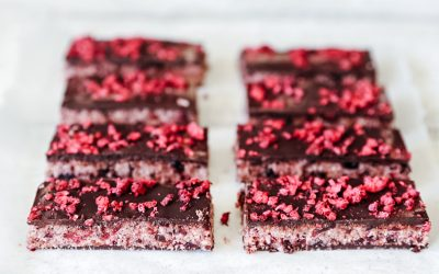 "Home Made ""Cherry Ripe"" Bars"