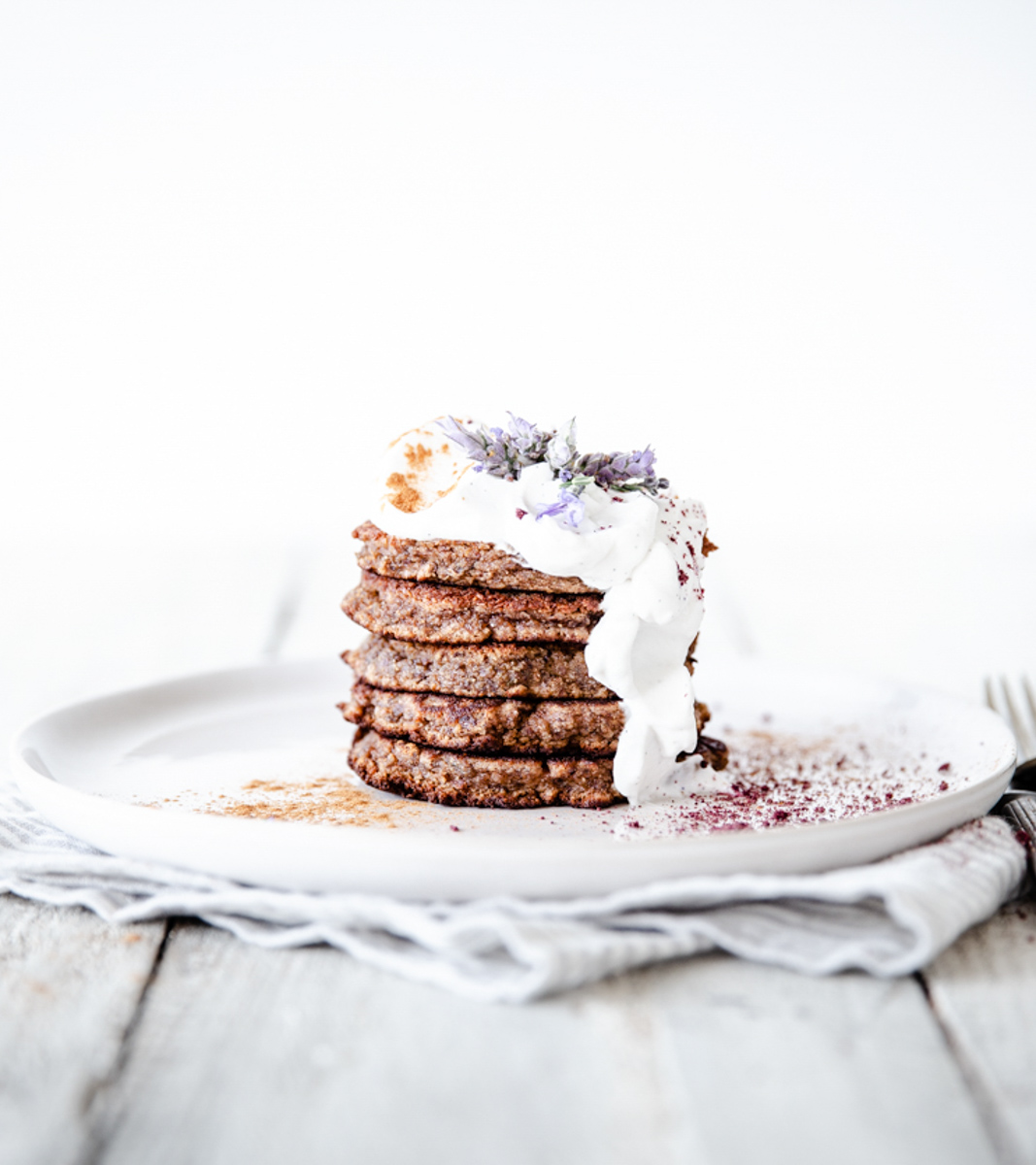 Spiced Sweet Potato Pancakes