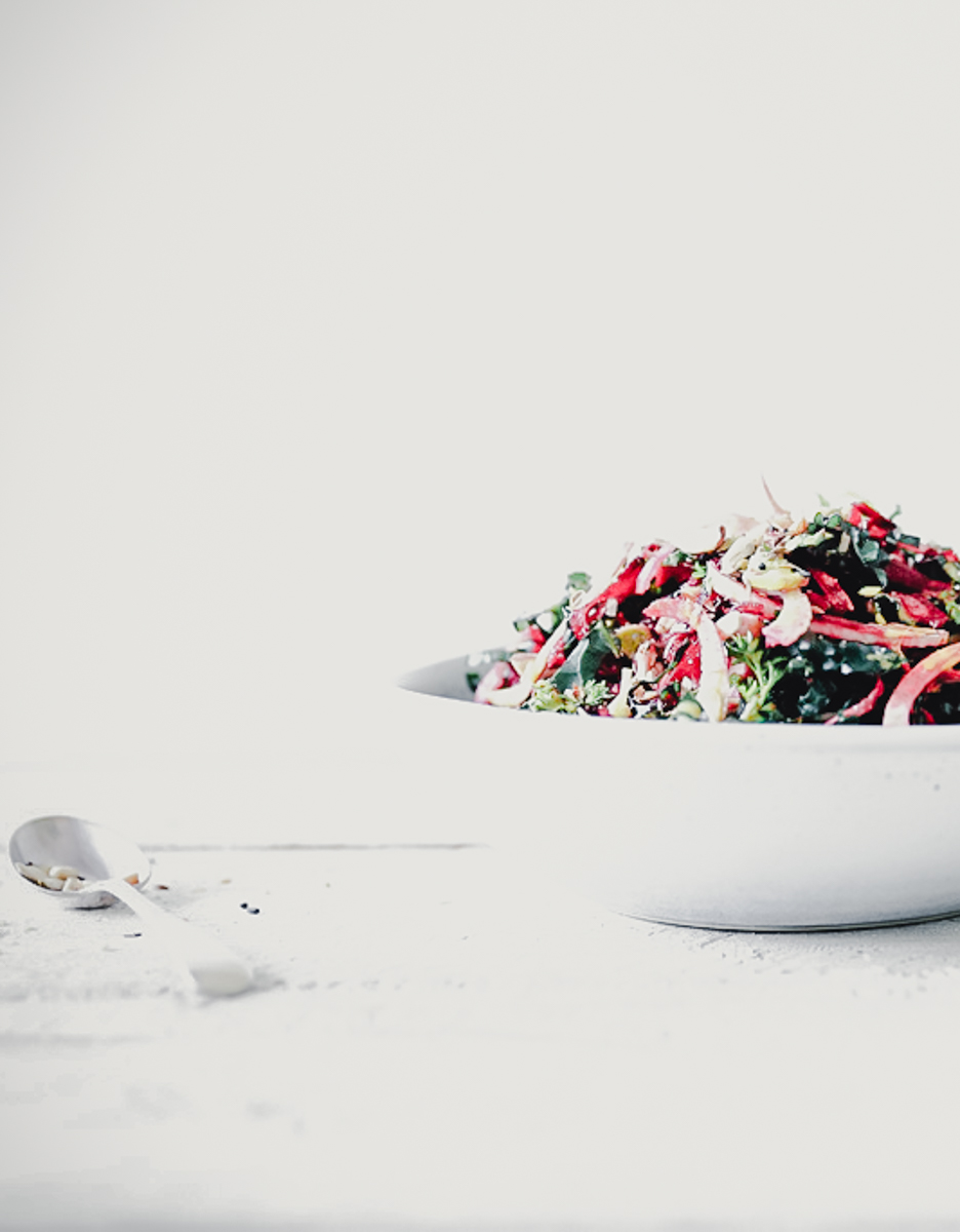 Fennel, Beetroot & Kale Slaw