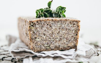 Activated Buckwheat Hemp Seed Bread (Vegan/GF)