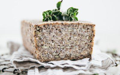 Activated Buckwheat Hemp Seed Bread (Vegan/GF)