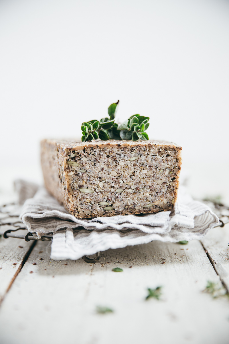 Activated Buckwheat Hemp Seed Bread