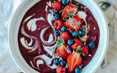 How To Make A Low Sugar Super Antioxidant Açai Bowl